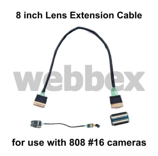 808 #16 8 inch Lens Extension Cable