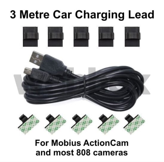 3 Metre Car Charging Cable