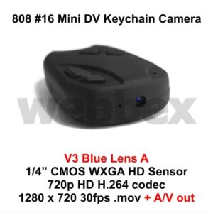 808 #16 Lens A Keychain Camera