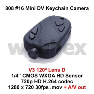 808 #16 Lens D Keychain Camera