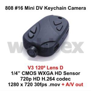 808 #16 Lens D Keychain Camera