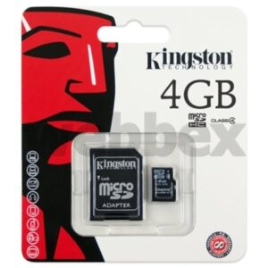 4gb Kingston Micro SD Memory Card