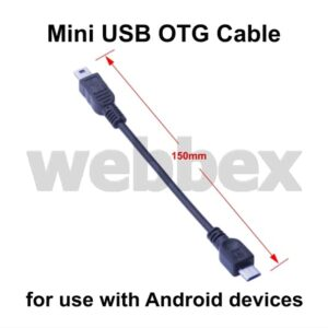 Mini USB OTG Cable