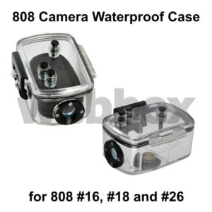 808 Keychain Camera Waterproof Case