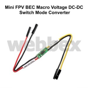 MINI FPV BEC MACRO VOLTAGE DC-DC SWITCH MODE CONVERTER
