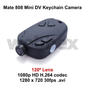 Mate 808 HD Keychain Camera