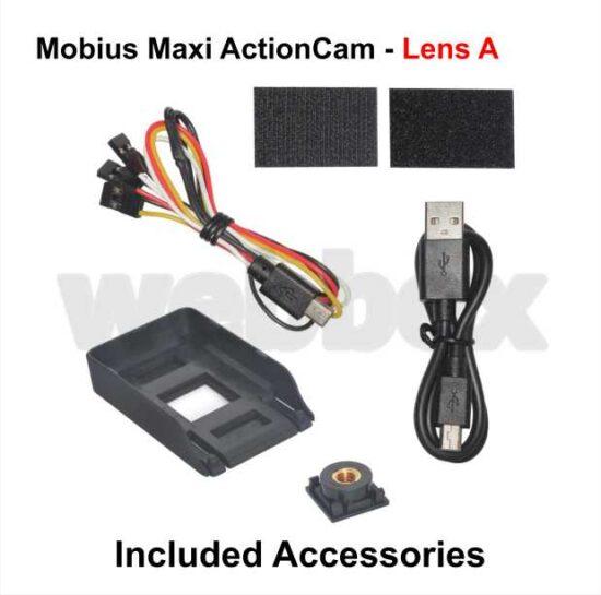 Mobius Maxi Action Camera - Orange Lens A