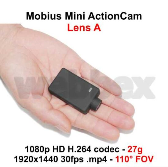 Mobius Mini Lens A Action Camera