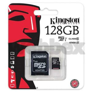 Kingston 128GB Class 10 SHDC Memory Card