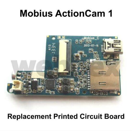 Mobius ActionCam Replacement PCB