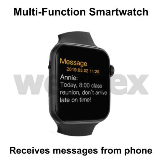 Webbex Multi-Function Smartwatch