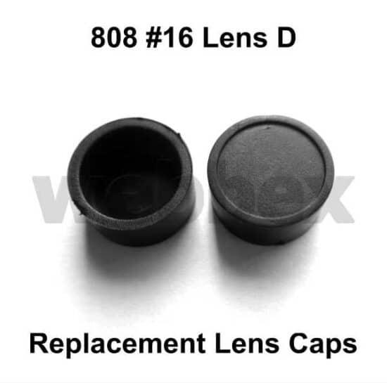 808 #16 Lens D Replacement Lens Caps