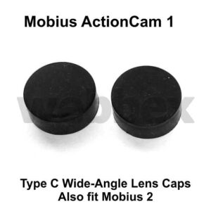 Mobius Action Camera 1 Lens C1 Replacement Lens Caps
