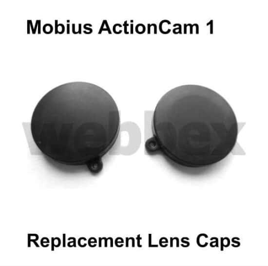 Mobius Action Camera 1 Replacement Lens Caps
