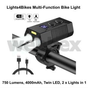 Lights4Bikes Multi-Function Bike Light